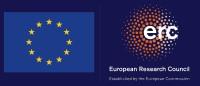 EU and ERC Logo: European Research Council established by the European Union